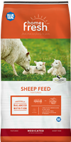 BLUE SEAL HOME FRESH 18 SHEEP STARTER/GROWER 18DQ MEDICATED FEED 50LB BAG