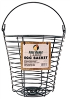 FREE RANGE LARGE EGG BASKET 10IN