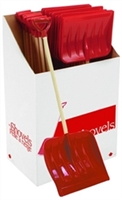 PARICON S-34 12IN KIDS SNOW SHOVEL POLY