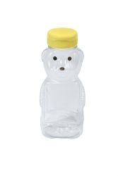 PLASTIC BEAR BOTTLE 12OZ
