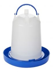 Miller Dt9857 Quot Double Tuff Quot Plastic Poultry Fount 1 5 Qt