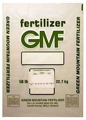 GREEN MOUNTAIN GENERAL PURPOSE FERTILIZER 5-10-5 50LB