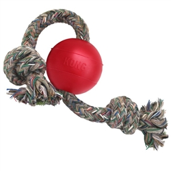 KONG BALL W/ROPE
