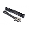 CRESCENT CPTAW8 X6 PASS THRU ADJUSTABLE WRENCH SET 10PC