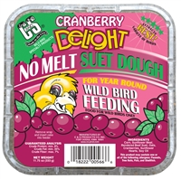 C AND S PRODUCTS SUET DOUGH CRANBERRY DELIGHT 11.75OZ