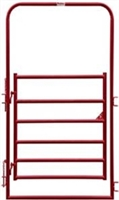 BEHLEN 4FTX8FT RED ARCH GATE CORRAL PANEL