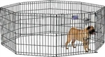 EXERCISE PEN W/ STEP THRU DOOR 24X24