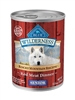 BLUE BUFFALO ROCKY MOUNTAIN RECIPE GRAIN- FREE SENIOR DOG 12.5OZ - CASE OF 12