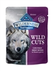 BLUE BUFFALO WILDERNESS WILD CUTS TRAIL TOPPERS CHUNKY BEEF BITES 3OZ - CASE OF 24