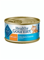 BLUE BUFFALO HEALTHY GOURMET GRILLED CHICKEN ENTREE ADULT CAT 5.5OZ - CASE OF 24