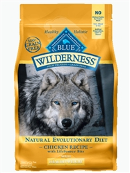 BLUE BUFFALO WILDERNESS ADULT DOG HEALTHY WEIGHT CHICKEN 4.5LB