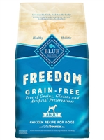 BLUE BUFFALO FREEDOM GRAIN FREE CHICKEN RECIPE FOR ADULT DOGS 4LB