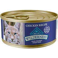 BLUE BUFFALO WILDERNESS CHICKEN RECIPE FOR ADULT CATS 5.5OZ - CASE OF 24
