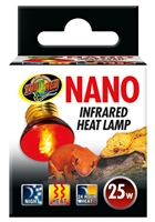 ZOOMED RS-25N NANO INFRARED HEAT LAMP 25W