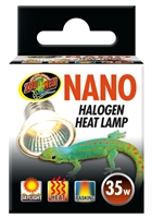 ZOOMED HB-25N NANO HALOGEN HEAT LAMP 35W