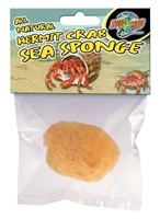 ZOOMED HS-10 ALL NATURAL HERMIT CRAB SEA SPONGE