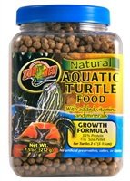 ZOOMED ZM-50B AQUATIC TURTLE FOOD GROWTH FORMULA 1.5OZ