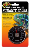 ZOOMED TH-21 PRECISION ANALOG HUMIDITY GAUGE