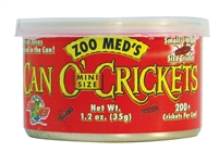 ZOOMED ZM-43 CAN O' MINI CRICKETS 1.2OZ