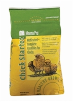 MANNA PRO CHICK STARTER CRUMBLE MEDICATED 5LB