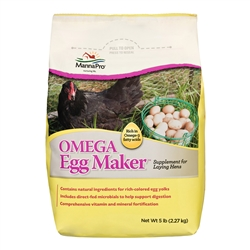 MANNA PRO OMEGA EGG MAKER SUPPLEMENT 5LB