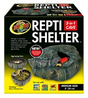 ZOOMED RC-31 REPTI SHELTER 3-IN-1 CAVE MEDIUM
