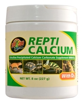 ZOOMED A34-8 REPTI CALCIUM WITH D3 8OZ