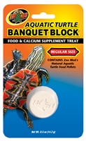 ZOOMED BB-50 AQUATIC TURTLE BANQUET BLOCK REGULAR