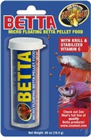 MICRO FLOATING BETTA PELLET FOOD