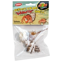 ZOOMED HC-35 HERMIT CRAB GROWTH SHELL SMALL 3PK