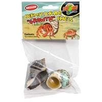 ZOOMED HC-36 HERMIT CRAB GROWTH SHELL MEDIUM 2PK