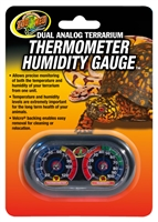 ZOOMED TH-27 ECO DUAL ANALOG THERMOMETER/HUMIDITY GAUGE