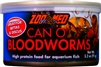 ZOOMED CAN O' BLOODWORMS FISH FOOD 3.2OZ