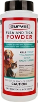DURVET FLEA AND TICK POWDER 8OZ