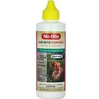 DURVET NO BITE FLEA AND TICK EAR MITE 4OZ