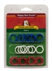 HAPPY HEN POULTRY LEG BANDS SIZE 11, 24 PACK, ASSORTED COLORS
