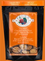 FROMM 4STAR DOG TREAT CHICKEN PEA CARROT 8OZ
