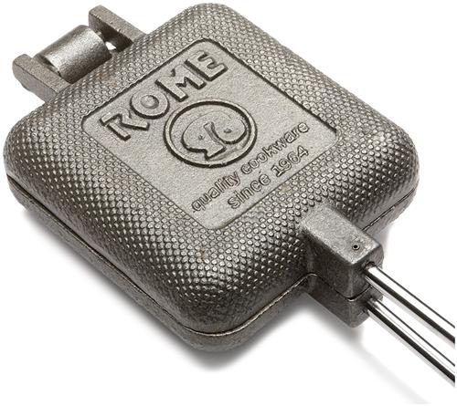 2 Rome Industries 1705 Square Cast Pie Iron for sale online