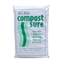 SUN-MAR COMPOST SURE GREEN 30 LITER (8 GALLON) BAG