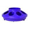 Miller 806 Heavy Duty Baby Chick Feeder, 1 qt Capacity 6.325 in W x 6-3/8 in L x 2-1/2 in H, Purple