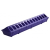 Miller 820 High Density Poultry Feeder 4-1/2 in W X 20 in L X 3 in H, Polypropylene, Purple