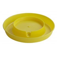 LITTLE GIANT 750 SCREW ON BASE FOR GALLON WATERERS, YELLOW