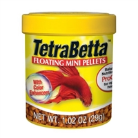 TETRA BETTA FLOATING MINI PELLETS 1.02 OUNCE