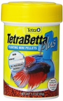 TETRA BETTA FLOATING MINI PELLETS PLUS 1.2 OUNCE