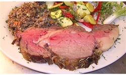 Half Seasoned Boneless Prime Rib
