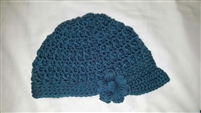 Newsboy Hat - Tealy Blue