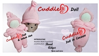 CuddleMe Doll and Hat (Infant Size)