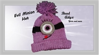 Evil Minion Hat (Girl)