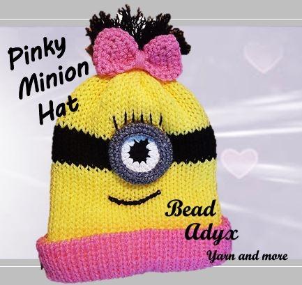 Pinky Minion Hat
