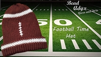 Football Time Hat - Adult